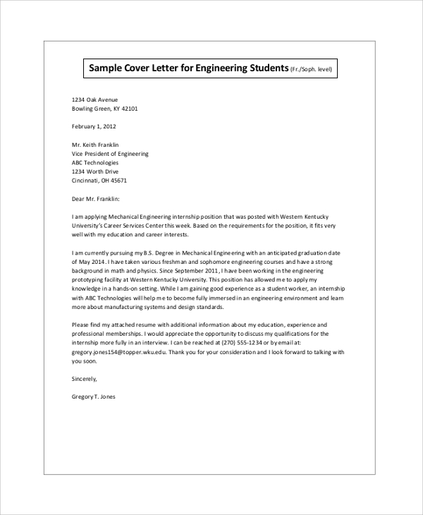 biotech cover letter
