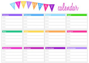 birthday calendar template free birthday calendar templates free birthday calendar templates abpwhc