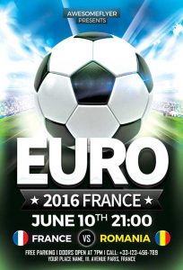 birthday flyer template euro soccer flyer template awesomeflyer com