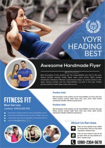birthday flyer template fitness flyer template psd