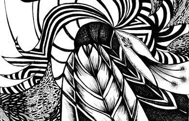 black and white abstract black and white abstract drawings free wallpaper