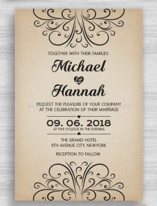 black and white party invitations vintage engagement invitation