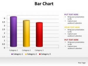 blank bar graph template powerpoint slide designs data driven bar chart ppt template