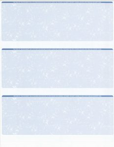 blank business check template per page business front