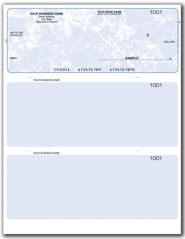 blank business check template