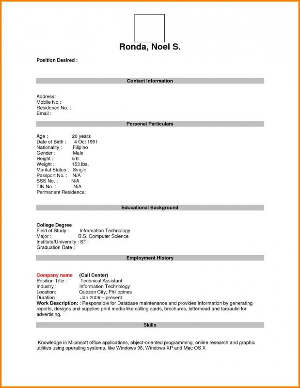 blank business plan template word