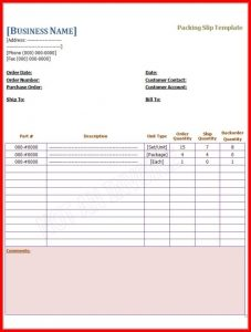 blank coupon template free business templates free printable packing slip template sample x