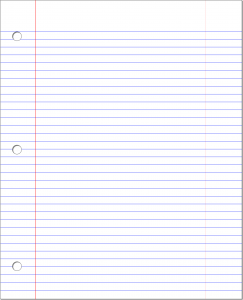 blank lined paper lined paper template