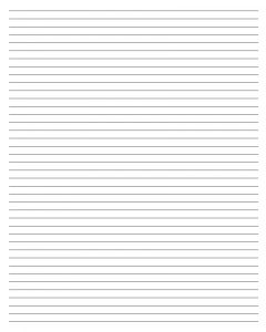 blank lined paper printable blank lined paper template