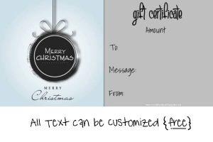 blank logo templates christmas gift certificate min