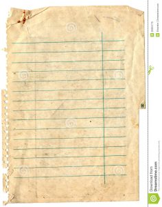 blank notebook paper old note paper background