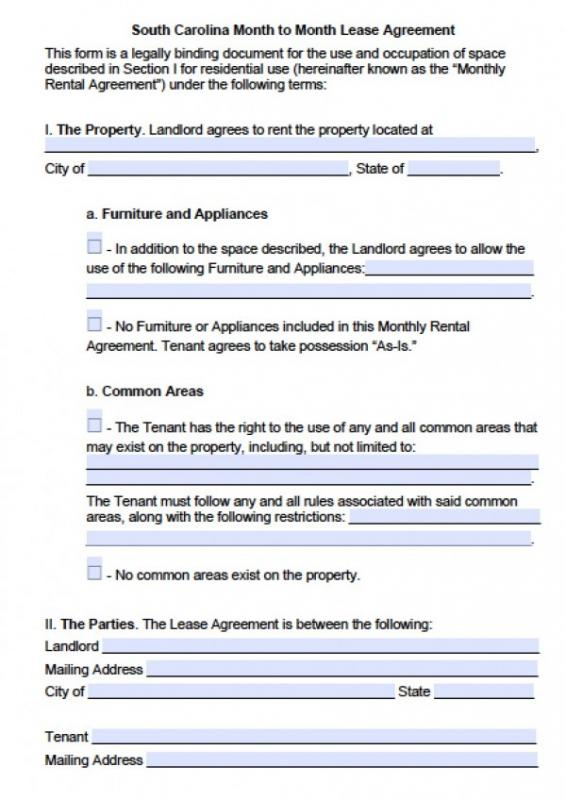 blank rental application
