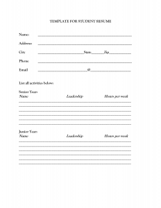 blank resume form blank resume templates for students resume builder resume blank resume template