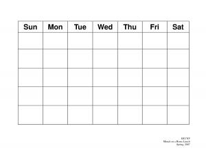 blank schedule template blank calendar template afsgftos