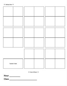 blank seating chart msadventuresinroom seating charts attachment september