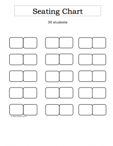 blank seating chart screen shot at pm