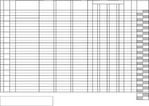 blank time sheet bg
