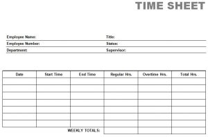 blank time sheets printable blank pdf time card time sheets