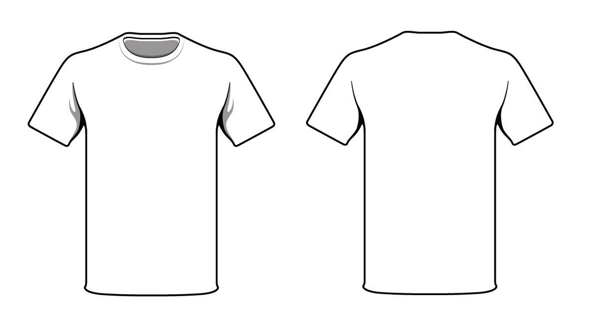blank tshirt template