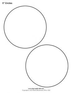 blank website templates inch circles blank