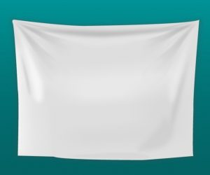 blank website templates white blank fabric background vector
