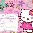 blank wedding invitation templates hello kitty party invitations blank