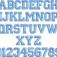 block letter font block letter embroidery font 16443