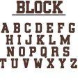 block lettering font fonts block font
