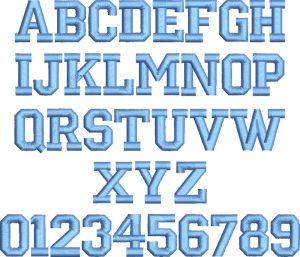 block letters font block letter embroidery font