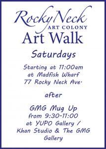 block party flier rnac art walk flier