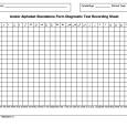 blood pressure recording chart arabic alphabet diagnostic record