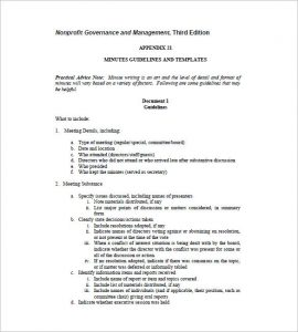 board meeting minutes template board meeting minutes guidelenes template