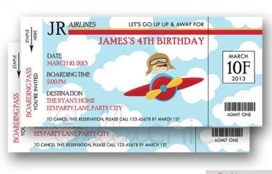 boarding pass invitation il xn rpg