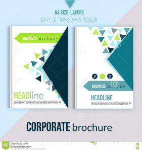 book cover design template clean brochure design annual report cover template magazine flyer book layout triangle shapes white background