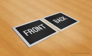 book mockup free free square business card mockup by carinareis dypaj