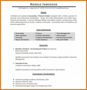 book outline example relevant experience resume high school student resume template no experience