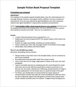 book proposal template fiction book proposal pdf download