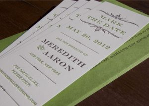 bookmark save the date bookmark meredith