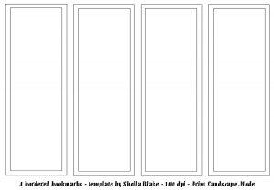 bookmark template publisher bookmarks border sheilab