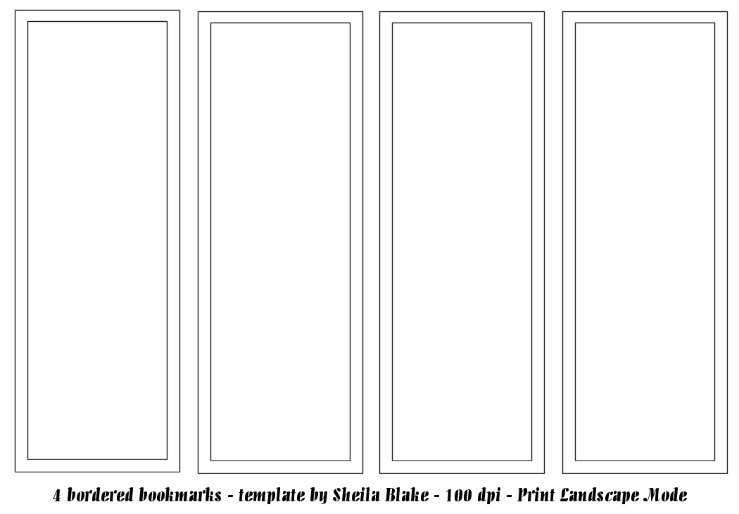 bookmark template publisher