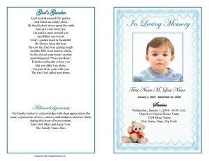 bookmark template publisher display bifold blue teddy bear template page