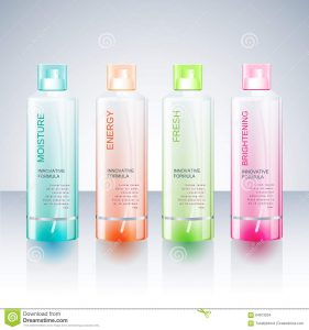 bottles mock up packaging design template body care bottle beauty templates shampoo shower gel bottles