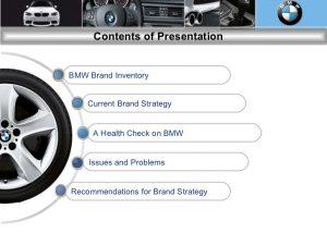 branding strategy template bmw brand audit