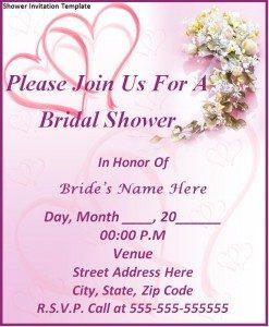 bridal shower invitation templates microsoft word shower invitation template x