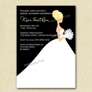 bridal shower invitation templates microsoft word wedding shower invitation template in microsoft word