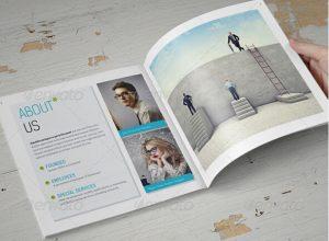 brochure templates indesign booklet design template
