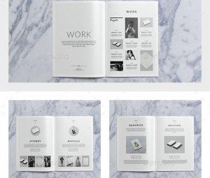 brochure templates indesign bushwick portfolio