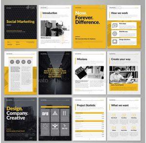 brochure templates indesign corporate e book template