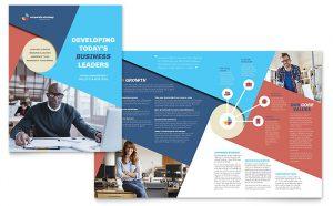 brochure templates indesign pn s