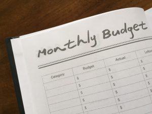 budget calendar template mindful budgeting planner budget